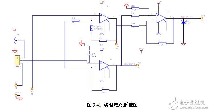 电路图天天读(10):可穿戴动态心电监护信号调理电路图