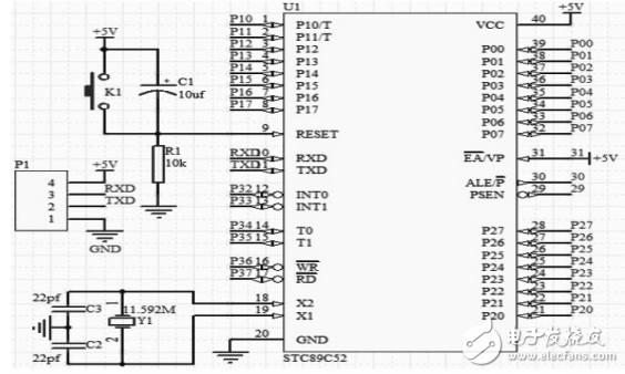 基于stc89c52的全自动洗碗机的设计 - 洗碗机电路图