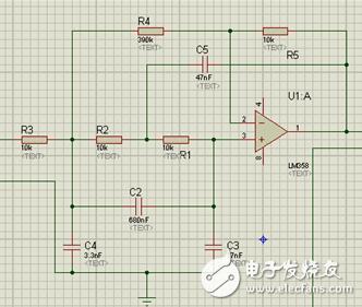 lm358运放方波转换为正弦波电路图分享 - 信号处理电子电路图