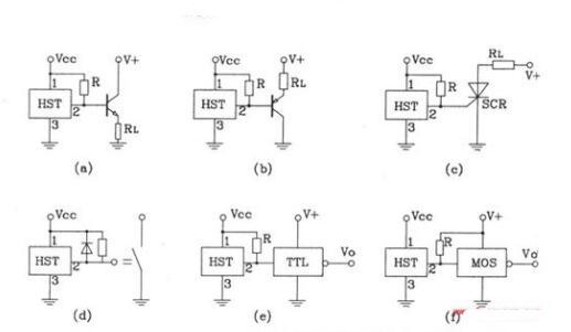 霍尔元件电路图大全(四款霍尔元件常用的电路图) - 信号处理电子电路