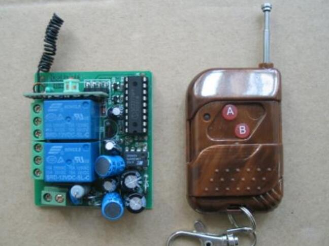 电灯遥控开关怎么接线_电灯遥控开关接线原理图 - 遥控电路图