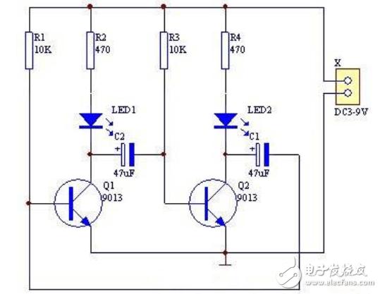 最简单闪光灯电路图大全(晶体管/电容器/照相机闪光灯