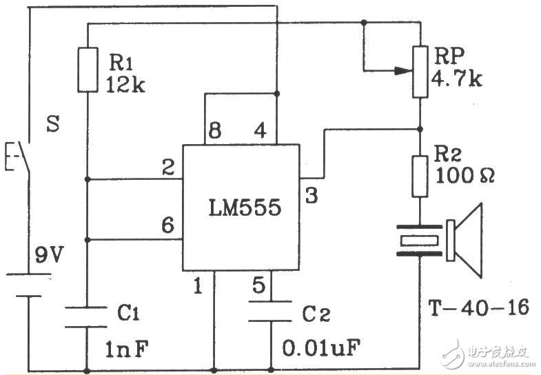 最简单无线发射电路图(三):基于nrf24l01的射频收发电路原理图