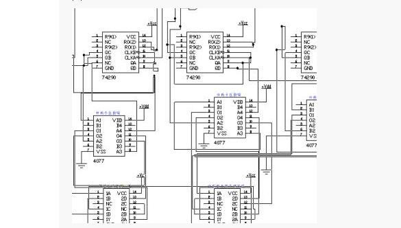 数字时钟设计电路图汇总(七款数字时钟电路图) - 数字