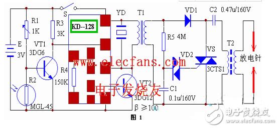 燃气报警器电路图大全(六款模拟电路设计原理图详解)