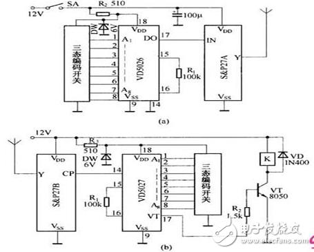 wifi遥控开关电路图大全(三款模拟电路设计原理图详解