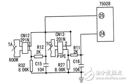 空调温度检测电路图大全(中央空调/传感器温度检测电路详解) - 信号