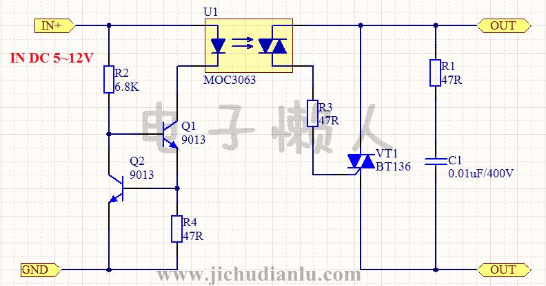sp120一48bt电路图